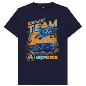 Men's Dive Team T-shirt_Blue